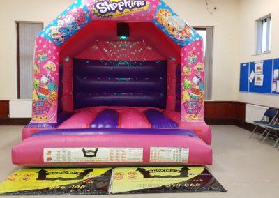 Shopkins Bouncy Castle