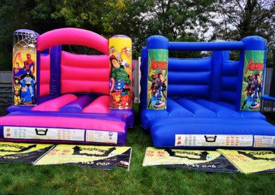 Superhero Indoor Bouncy Castles