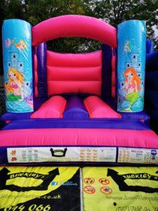 Mermaid Indoor Bouncy Castle