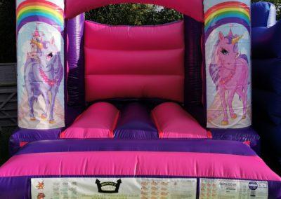 Unicorn Indoor Bouncy Castle