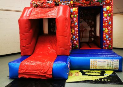 Pups Patrol Slide Bouncy Castle