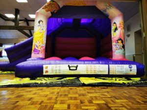Princess Slide Bouncy Castle