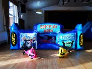 frozen softplay