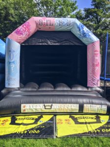 Gender Reveal Bouncy Castle