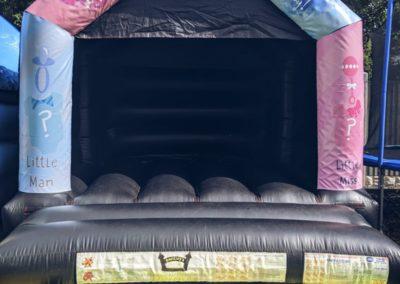 Gender Reveal Bouncy Castle