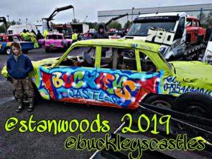 Sponsored Banger Car