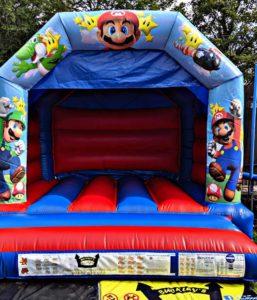 Super Mario Bouncy Castle