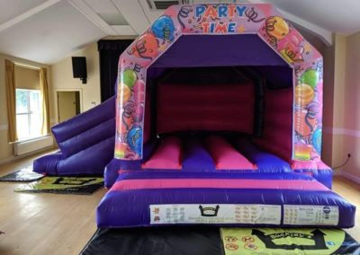 Party time Slide Bouncy Castle