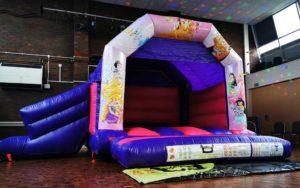 Princess Slide Bouncy Castle