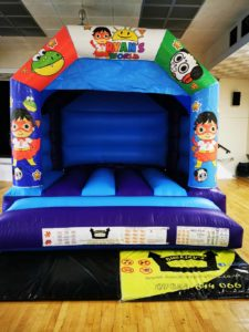 Ryan's World Bouncy Castle