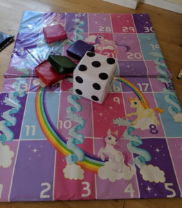 Unicorn Snakes and Ladders