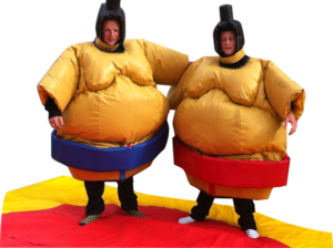 Sumo Suits and mat