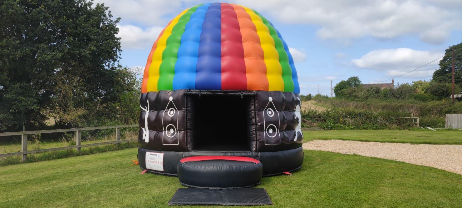 Disco dome new